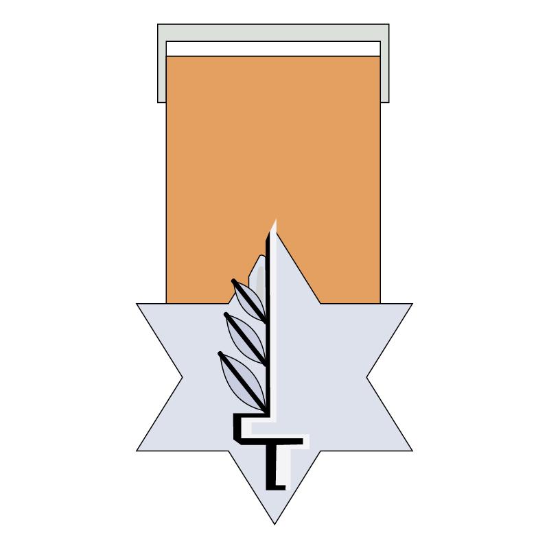 Medal of Valour vector