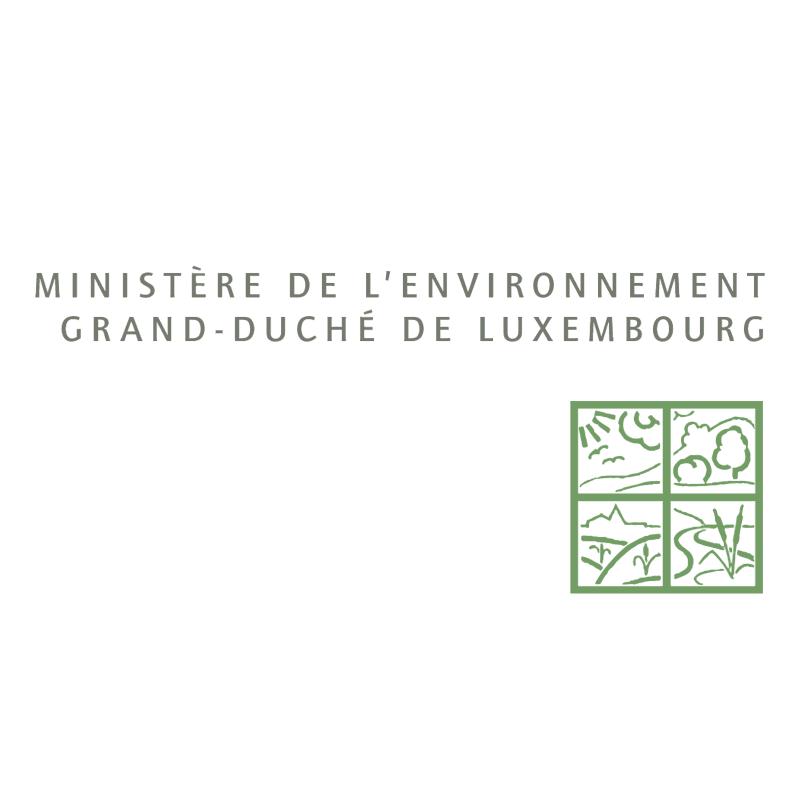 Ministere de L'Environnement vector