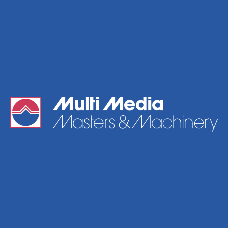 Multi Media Masters & Machinery vector