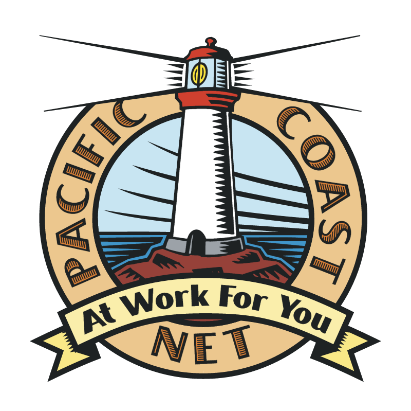 Pacific Coast Net vector