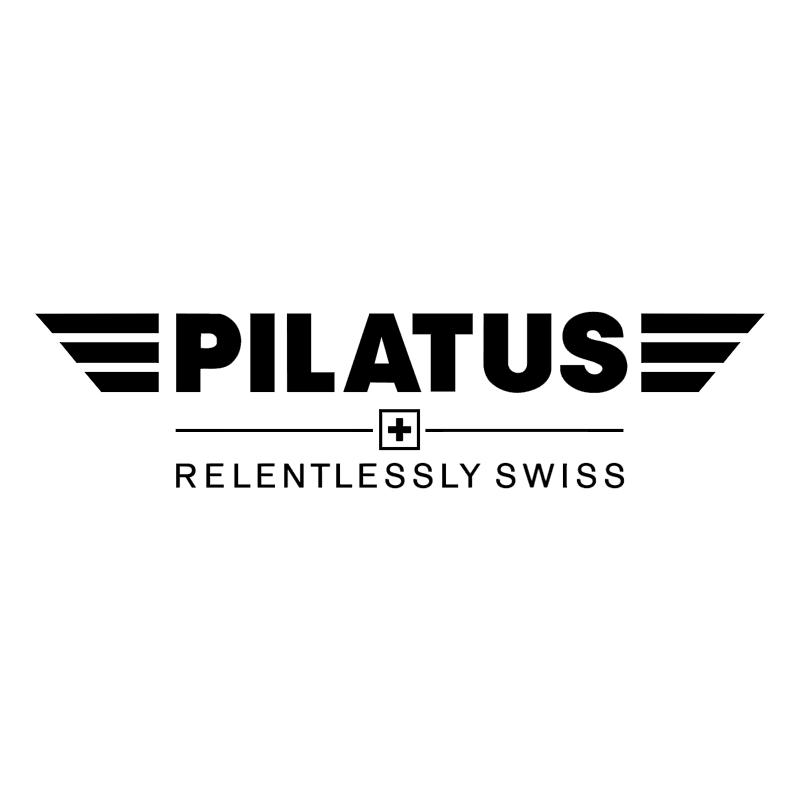Pliatus Aircraft vector