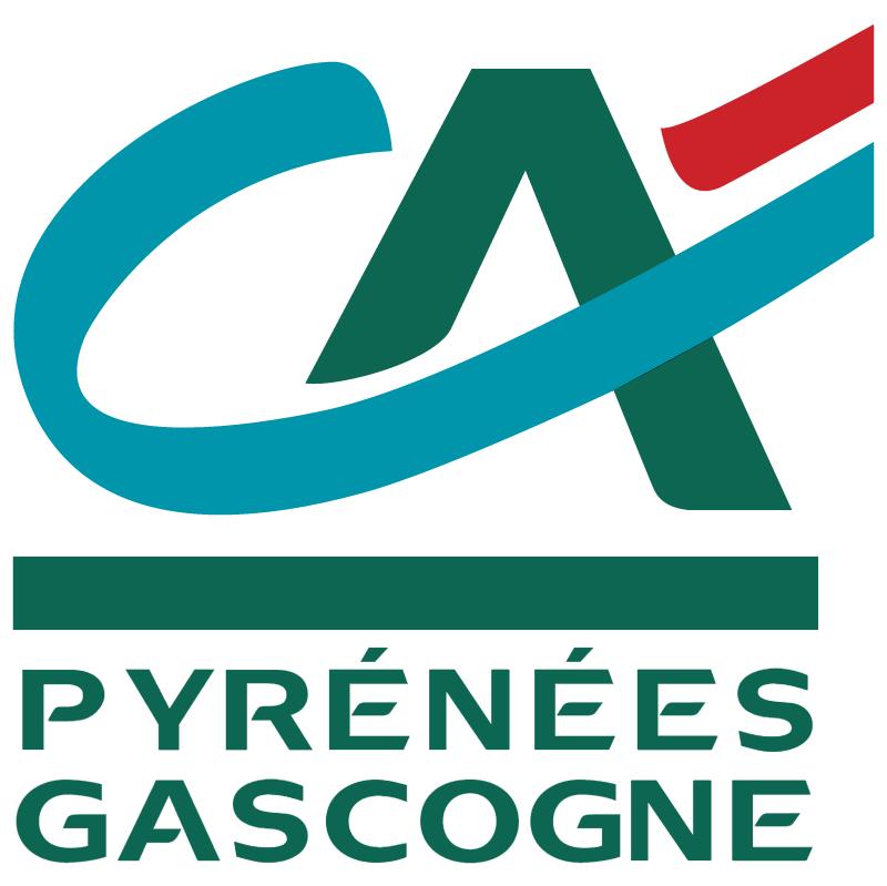 Pyrenees Gascogne vector