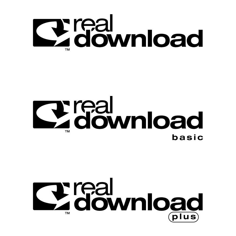 RealDownload vector logo