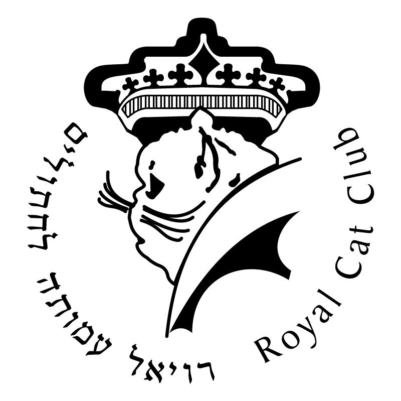 Royal Cat Club vector logo