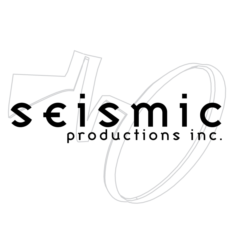 Seismic Productions vector