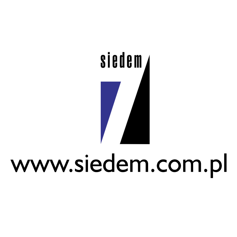 Siedem vector