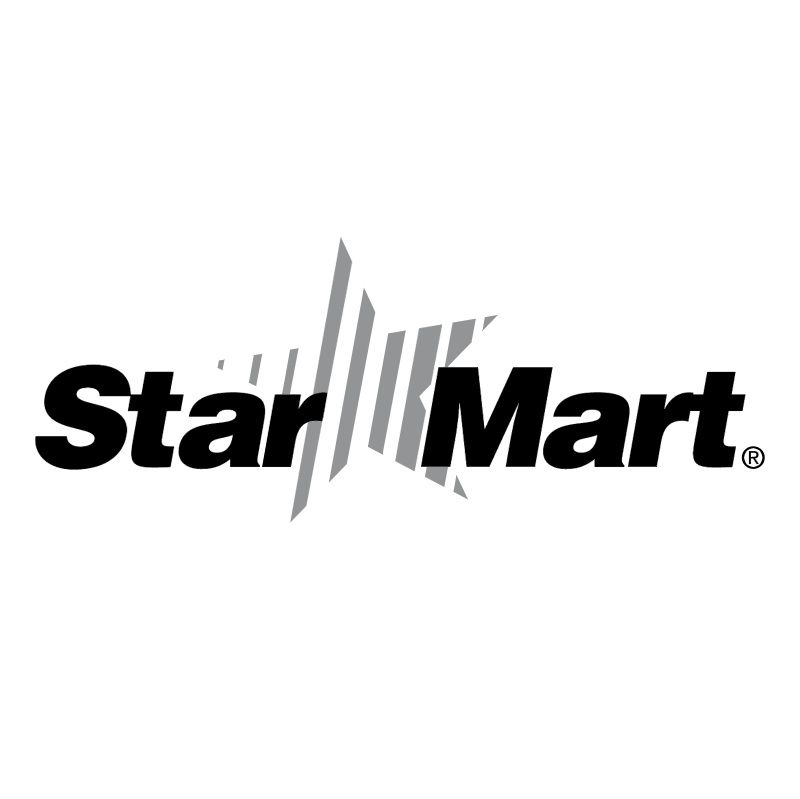 Star Mart vector logo