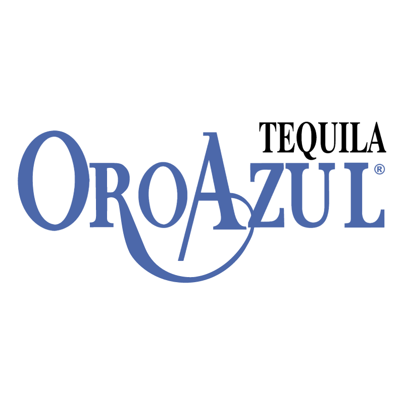 Tequila Oro Azul vector
