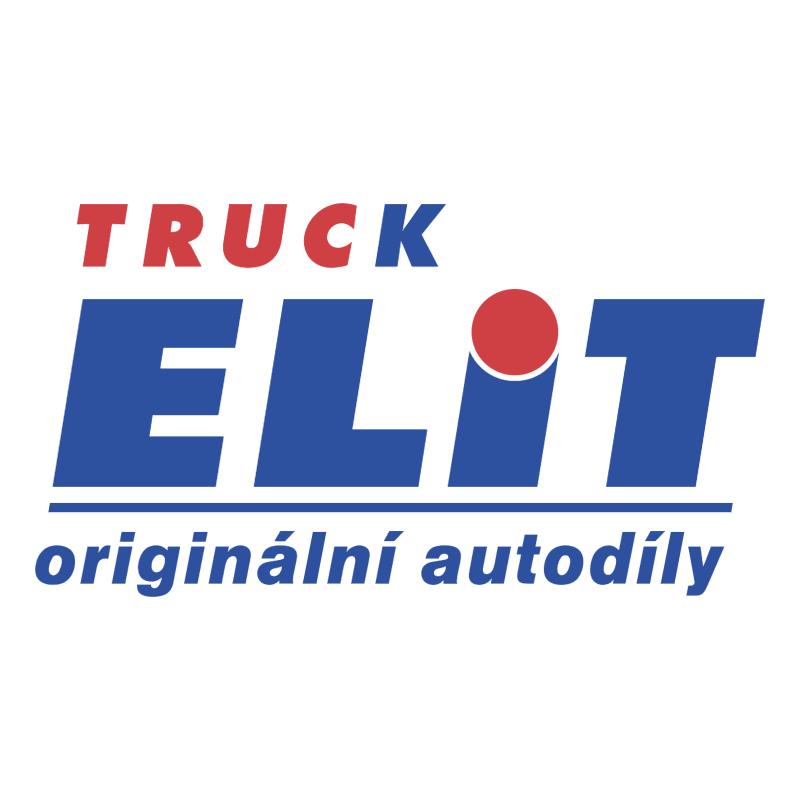 Truck Elit vector