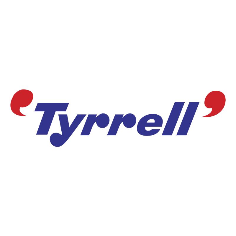 Tyrrell F1 vector