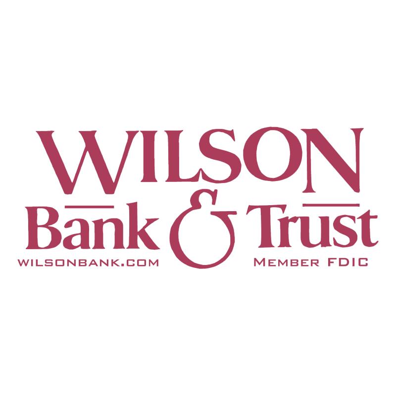 Wilson Bank & Trust vector