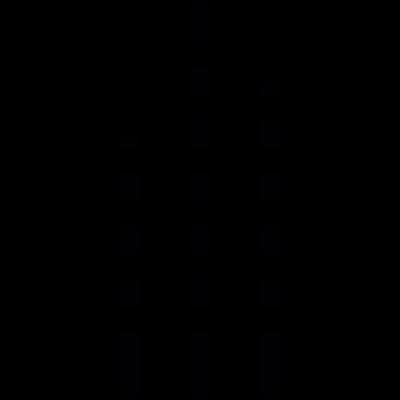 Musical volume vector logo