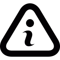 Info sign vector
