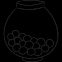 Candy Balls vector