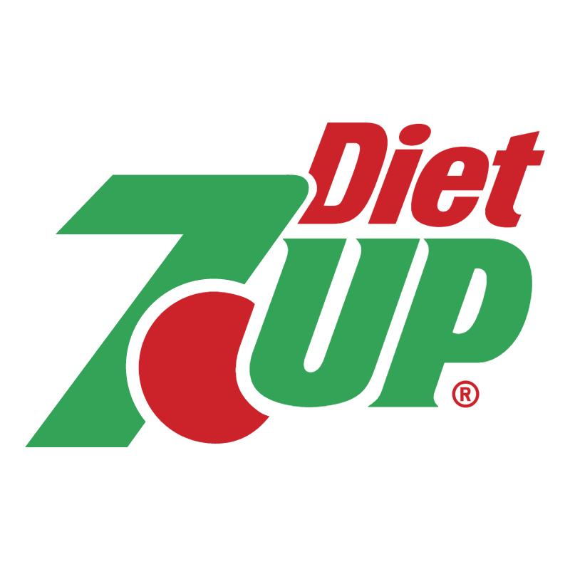 7Up Diet vector logo