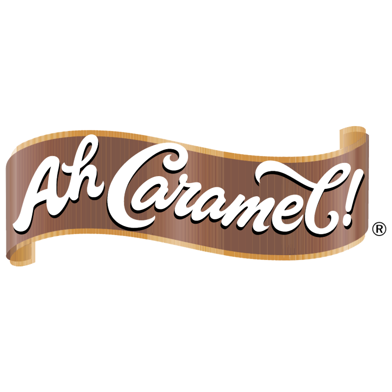 Ah Caramel vector