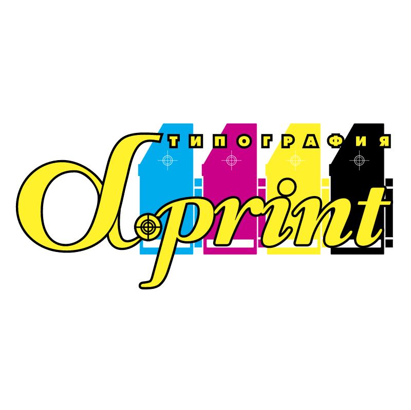 alpha print vector