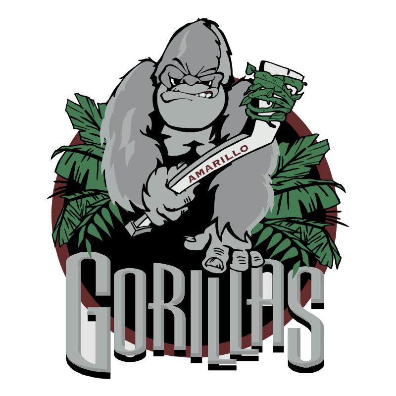 Amarillo Gorillas vector