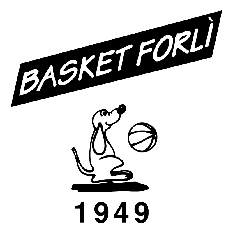 Basket Forli Marchio vector