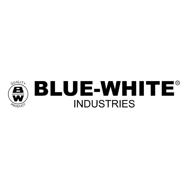 Blue White vector