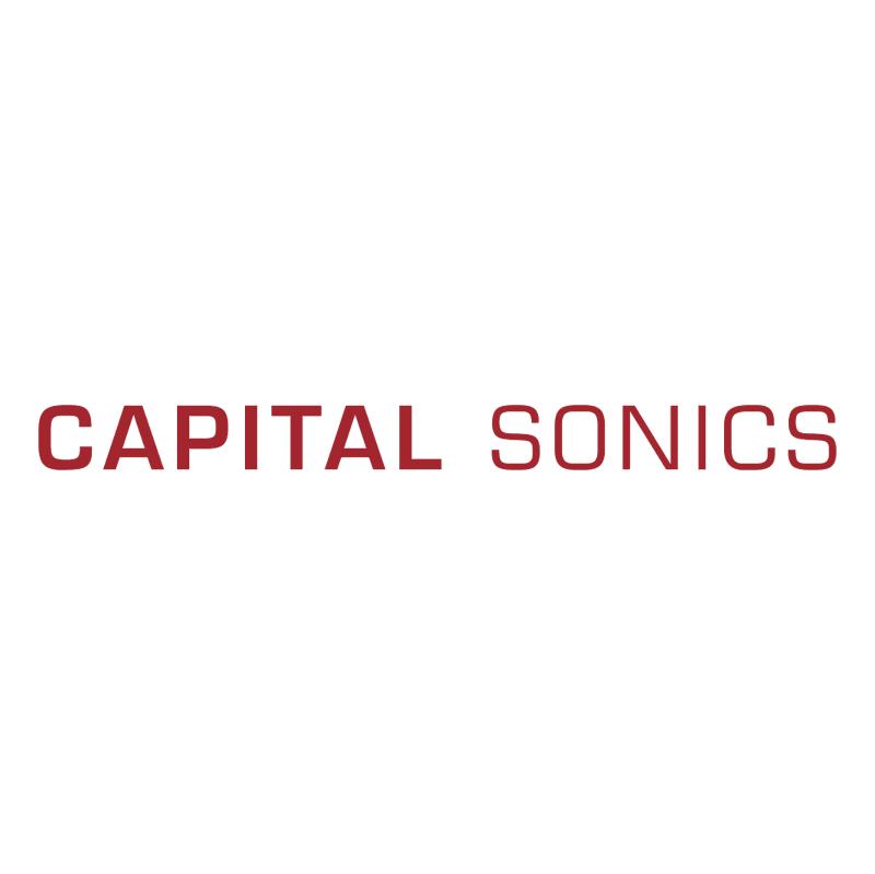 Capital Sonics vector