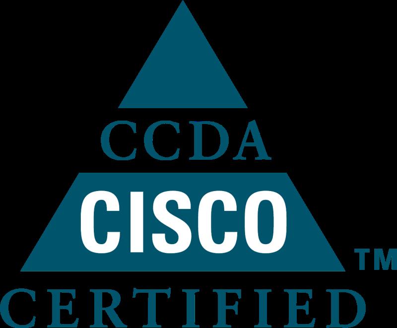 CCDA Cisco Sertified logo vector
