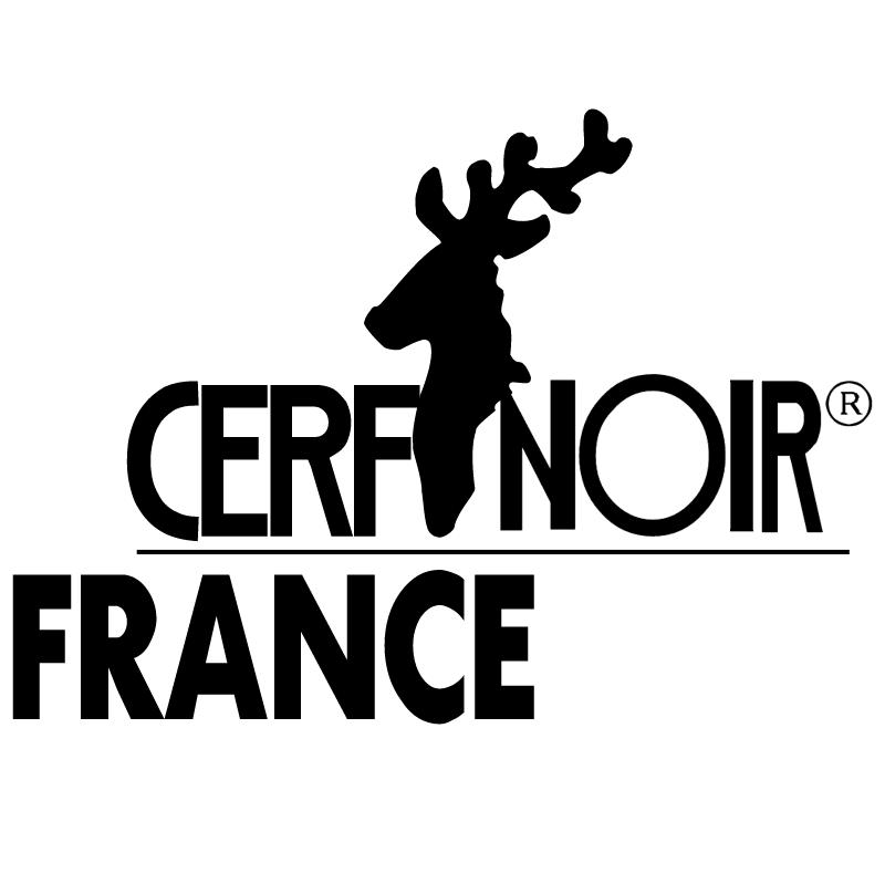 Cerfnoir vector logo