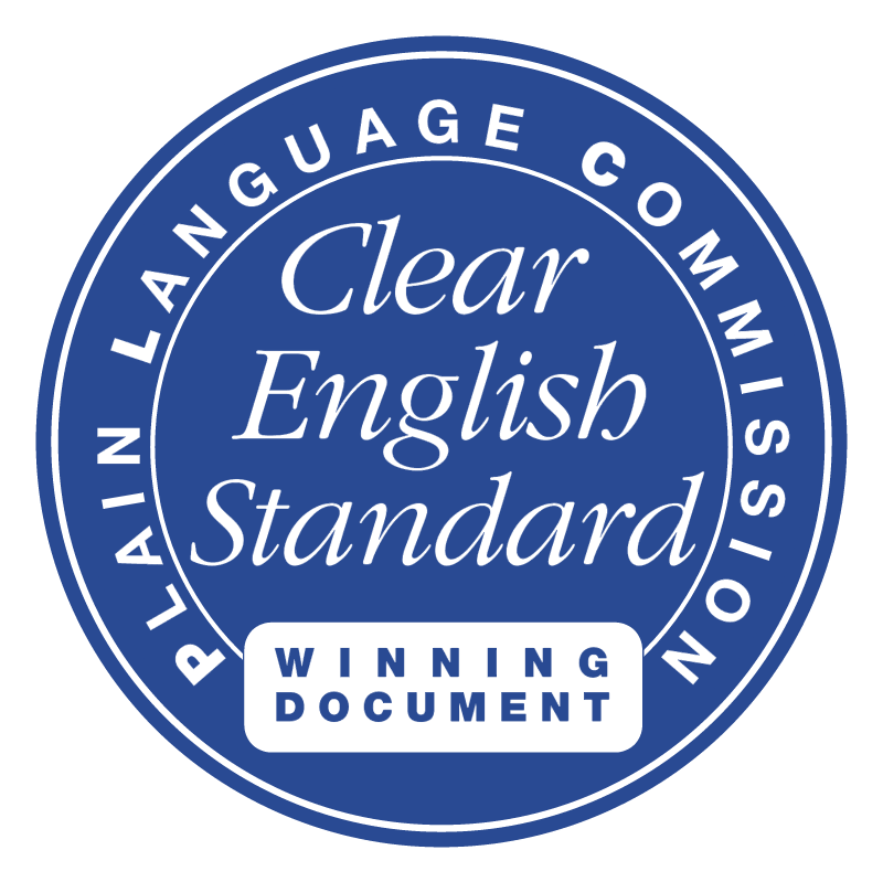 Clear English Standard vector