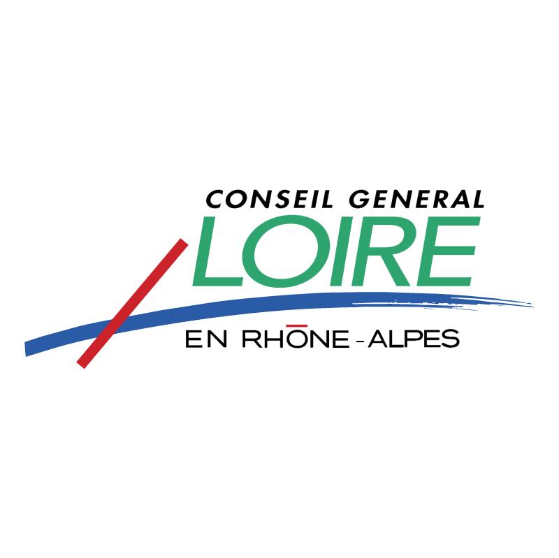 Conseil General Loire En Rhone Alpes vector