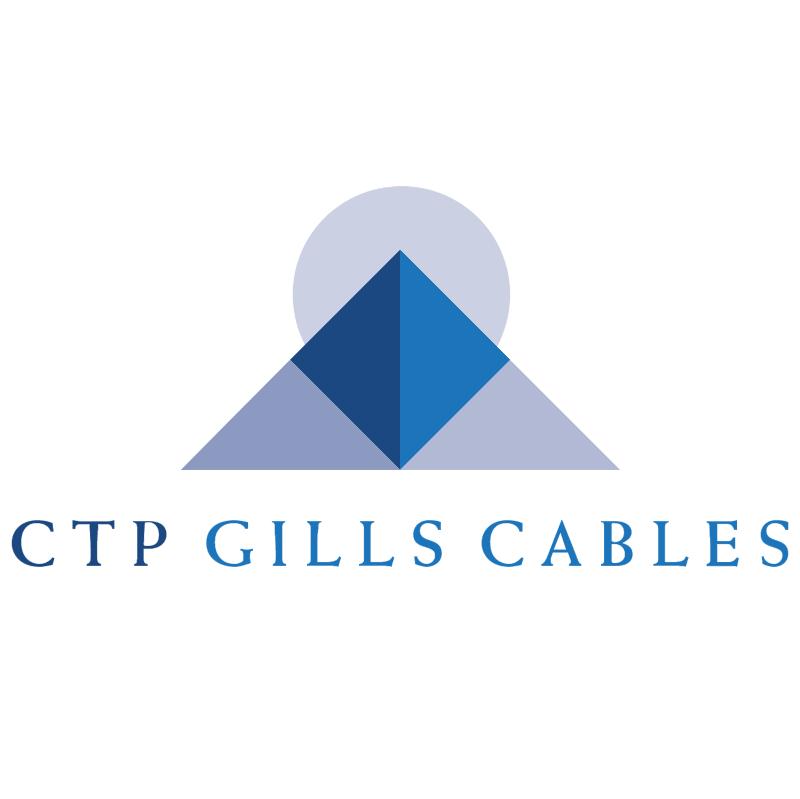 CTP Gills Cables vector logo