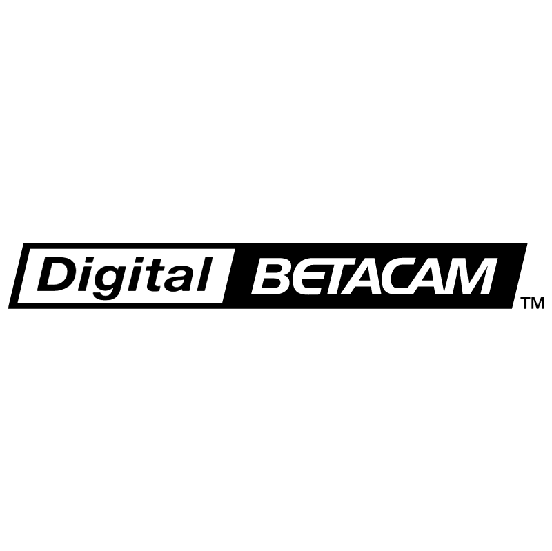 Digital Betacam vector