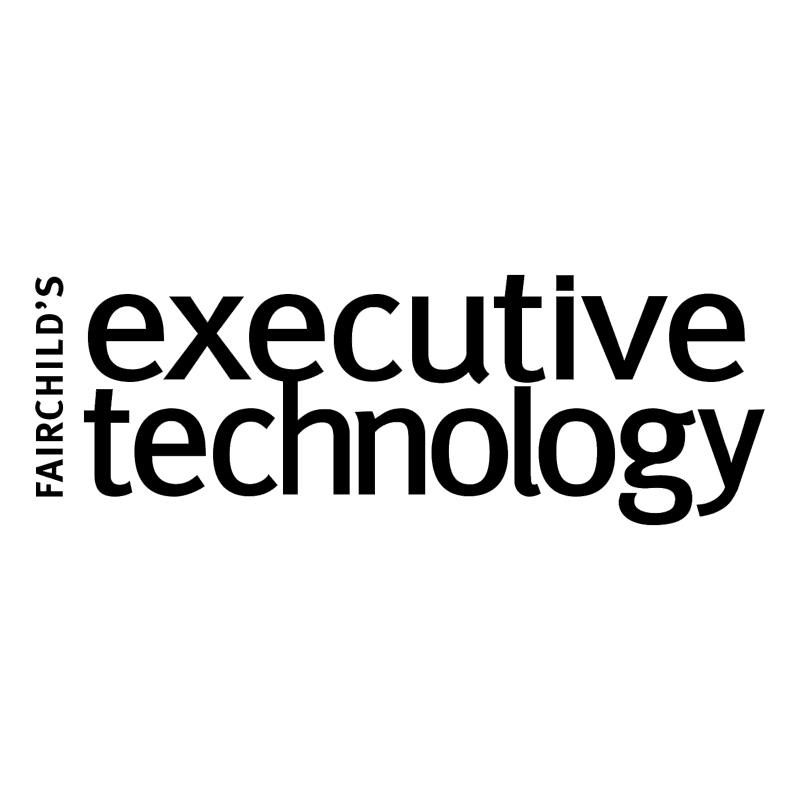 Fairchild's Executive Technology vector logo