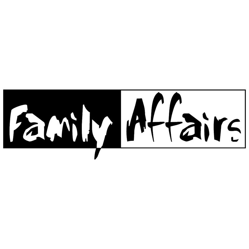 Family Affairs vector logo