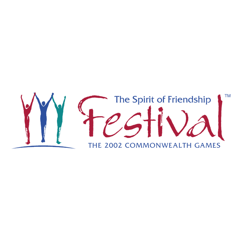 Festival 2002 Commonwealth Games vector logo