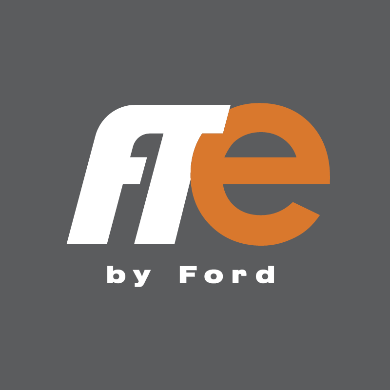 FTE BY FORD vector