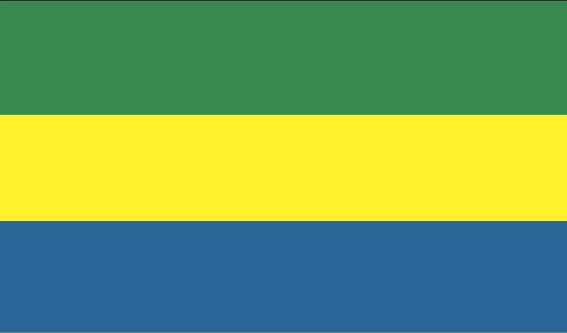 Gabon vector