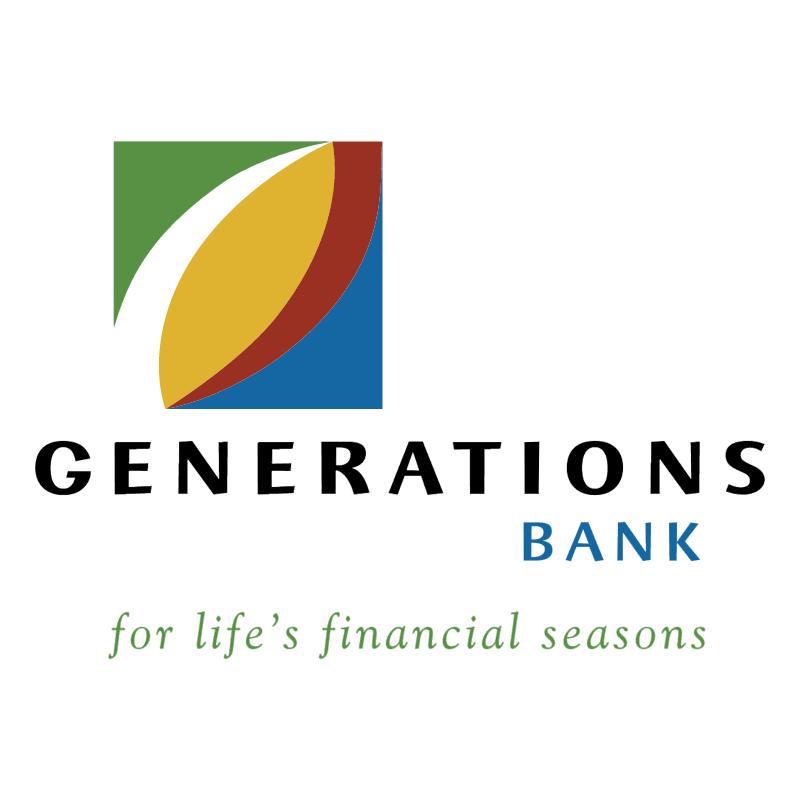 Generations Bank vector