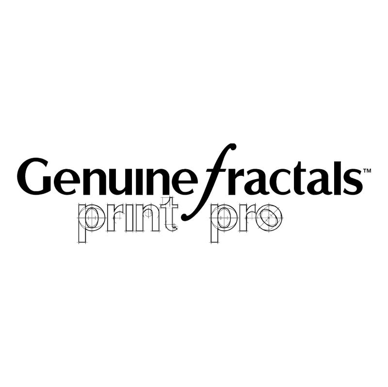 Genuine Fractals PrintPro vector