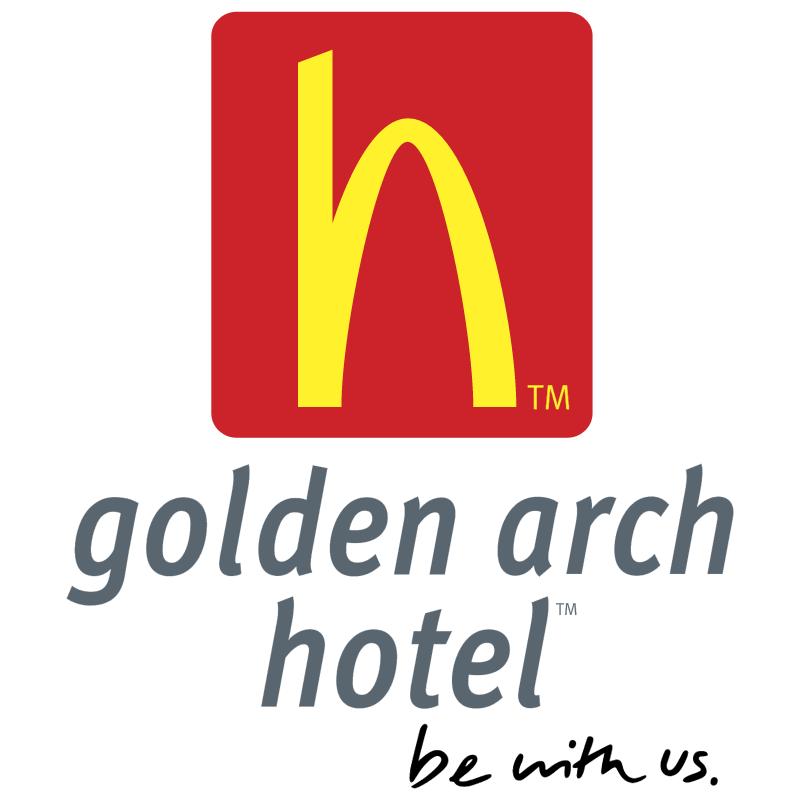 Golden Arch Hotel vector