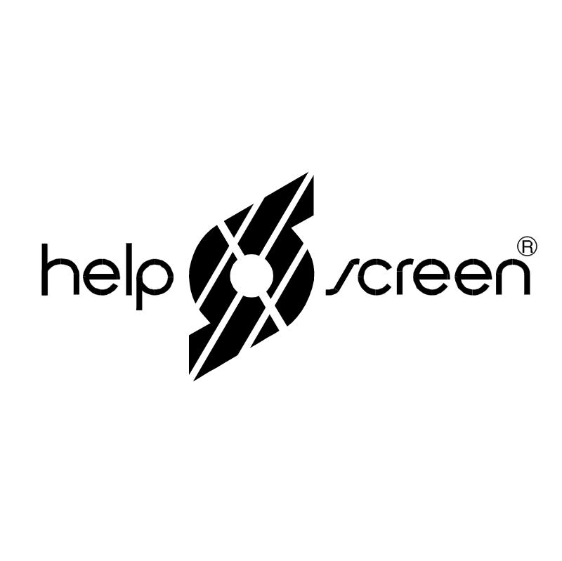 Helpscreen Brasil vector logo