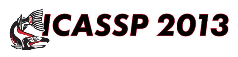 ICASSP 2013 vector