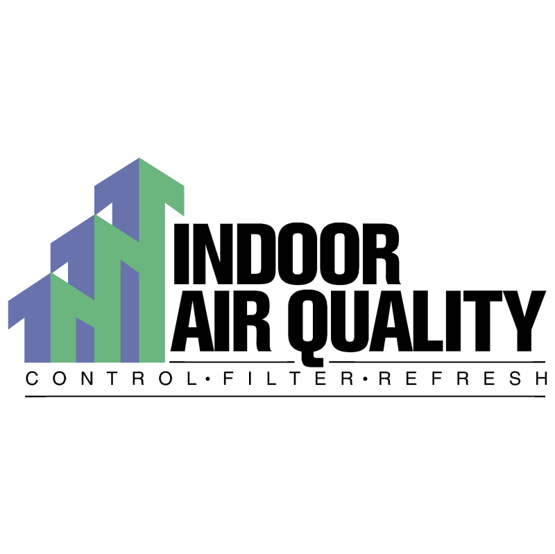 Indoor Air Quality vector logo