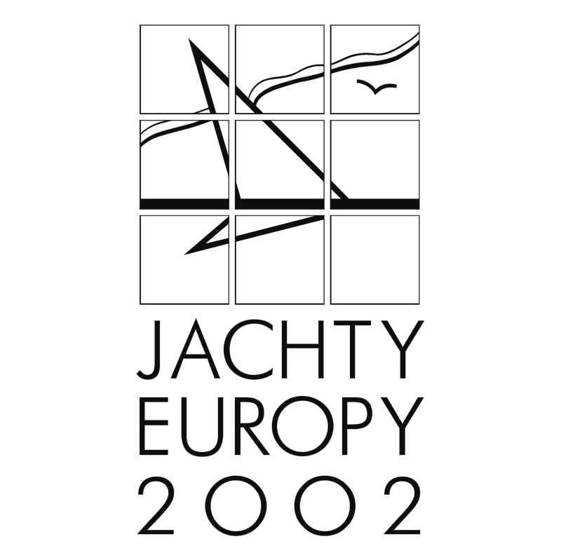 Jachty Europy 2002 vector
