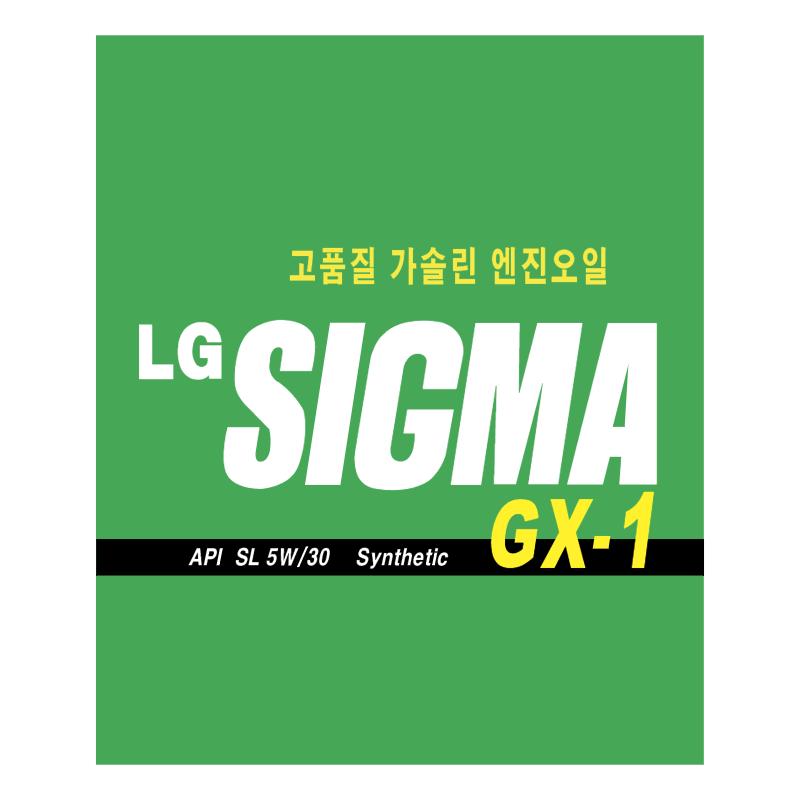 LG Sigma GX 1 vector