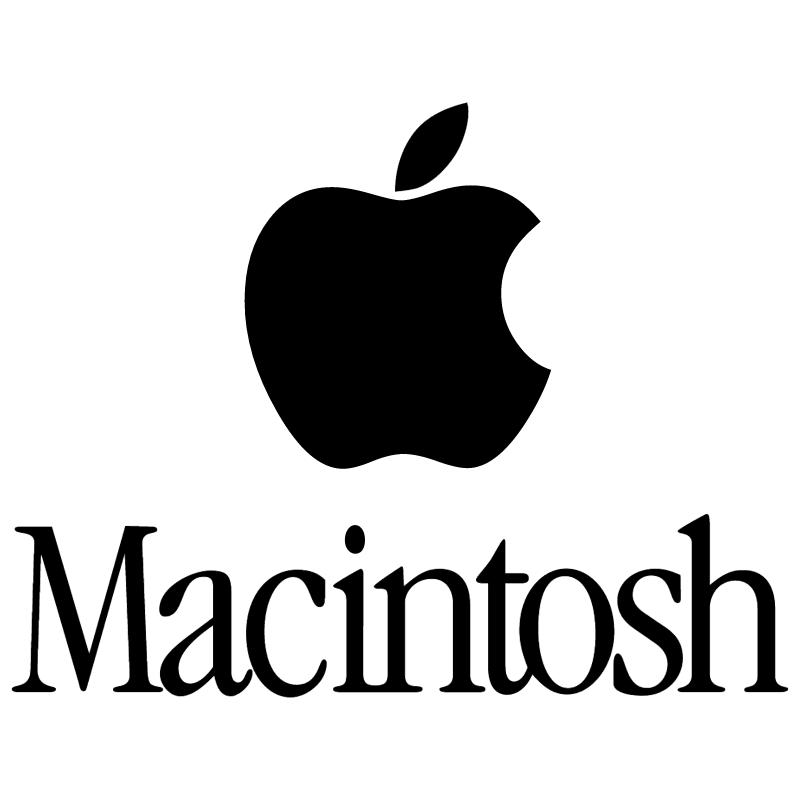 Macintosh vector logo