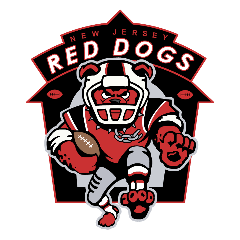 New Jersey Red Dogs vector logo