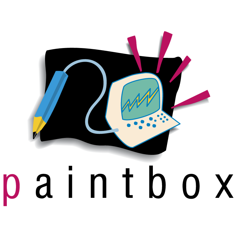 Paintbox vector