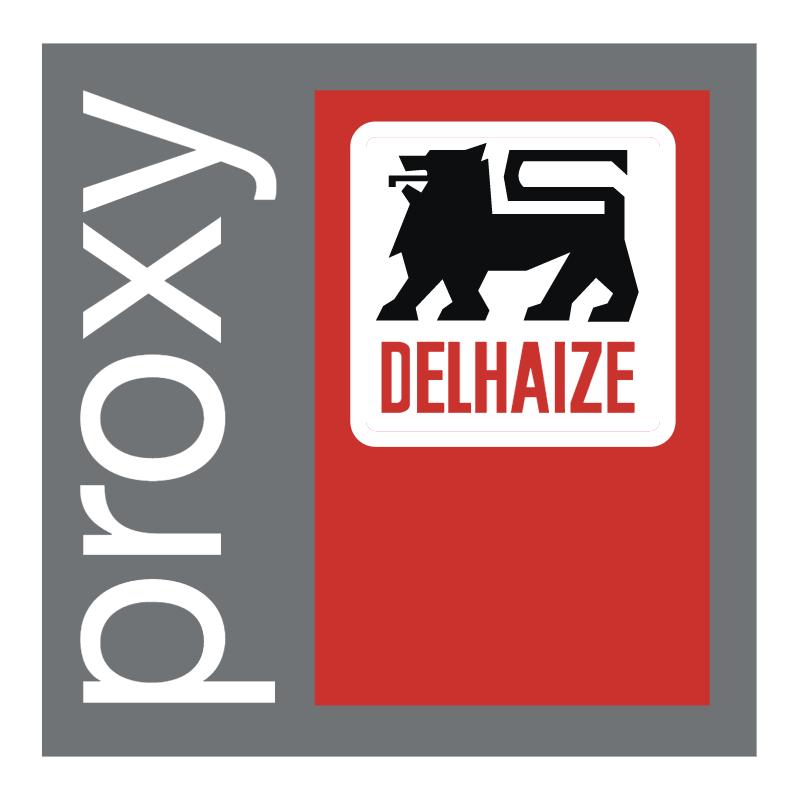 Proxy Delhaize vector