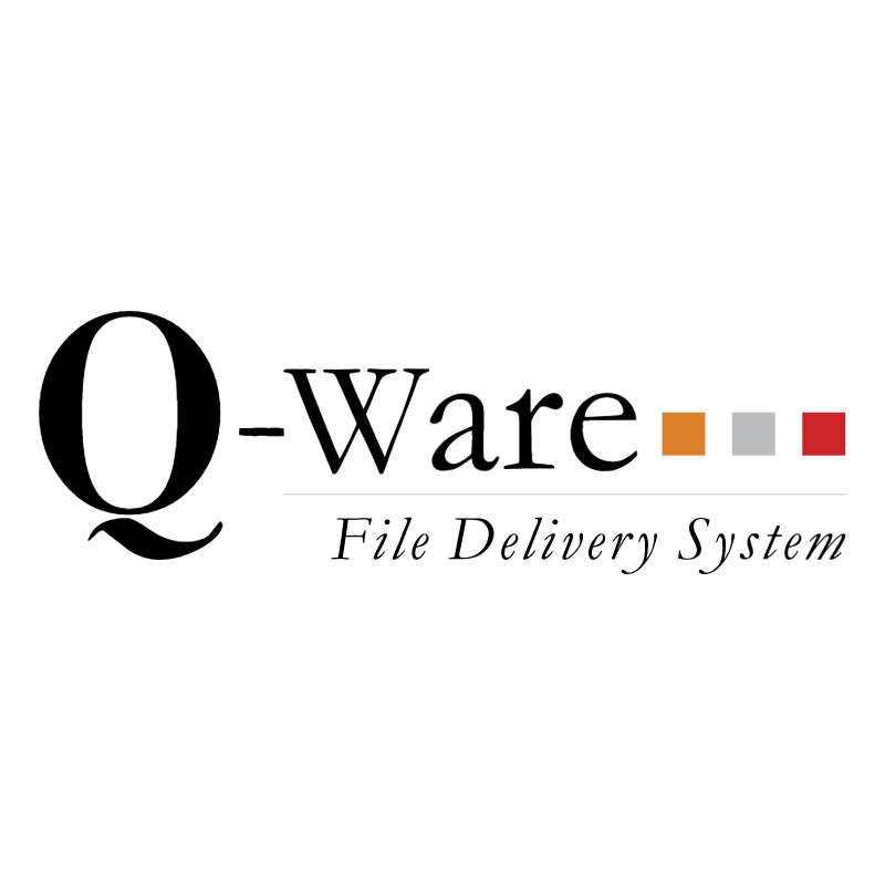 Q Ware File Delivery System vector