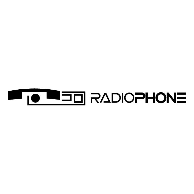 RadioPhone vector